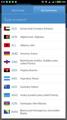Image of Currency Exchange Rates