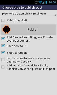 Image 6 of Bloggeroid for Blogger