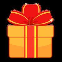 Icône de Gift Pony Cadeaux de Noël