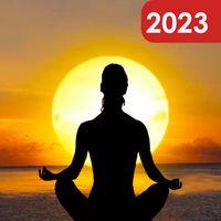 Ícone do meditação relaxe sono música