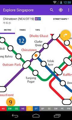 Image 3 of Explore Singapore MRT map