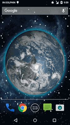 Image 3 of 3D Moving Earth Live Wallpaper
