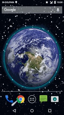 Image of 3D Moving Earth Live Wallpaper
