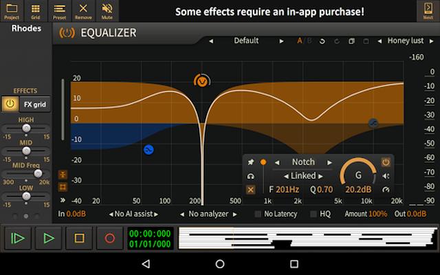 Image 10 of Audio Evolution Mobile Studio