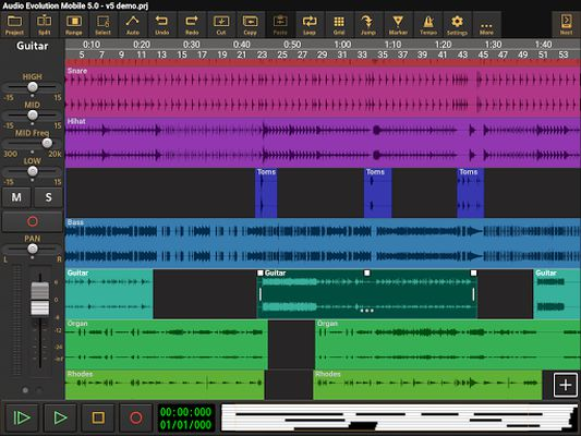Image 6 of Audio Evolution Mobile Studio