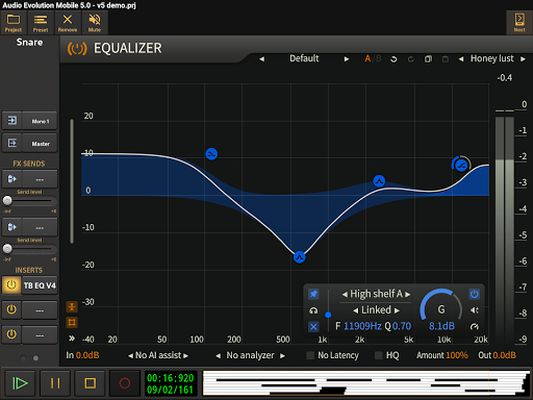 Image 4 of Audio Evolution Mobile Studio