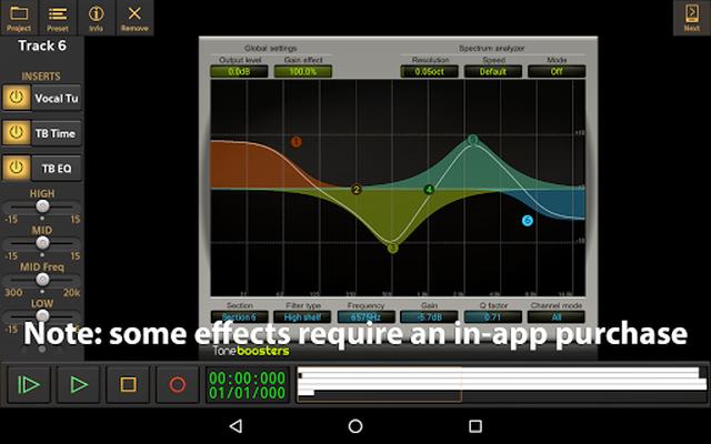 Image 22 of Audio Evolution Mobile Studio