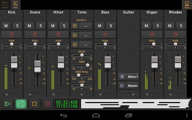 Image 12 of Audio Evolution Mobile Studio