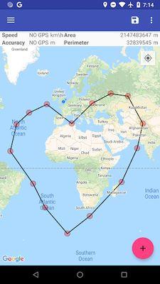 Image 4 of Area & Distance Calculator GPS