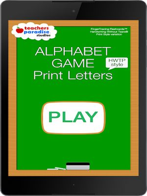 ABC image HWT writing for kids
