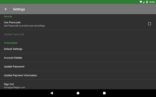 Image 9 of Dictadroid Voice Recorder