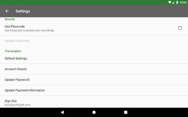 Image 10 of Dictadroid Voice Recorder