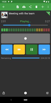 Image 2 of Dictadroid Voice Recorder