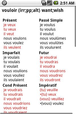 Image 2 of French Verbs Pro