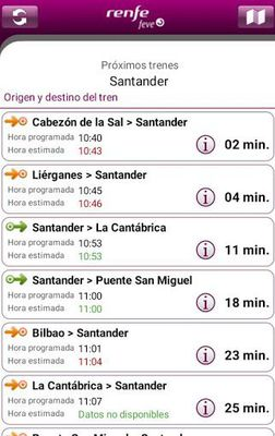 Image 2 of RENFE FEVE Schedules