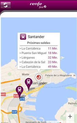 Image 1 of RENFE FEVE Schedules