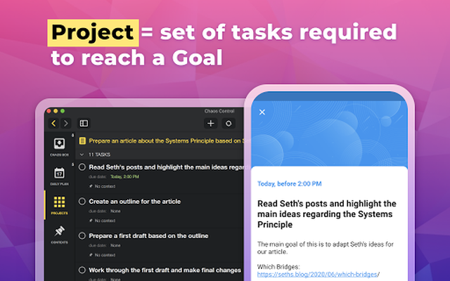 Image 12 of Chaos Control: Task List & GTD