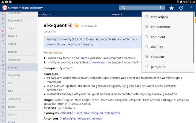 Dictionary Image 1 - MW Premium