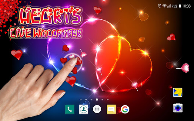 Hearts Live Wallpaper Android Free Download Hearts Live Wallpaper