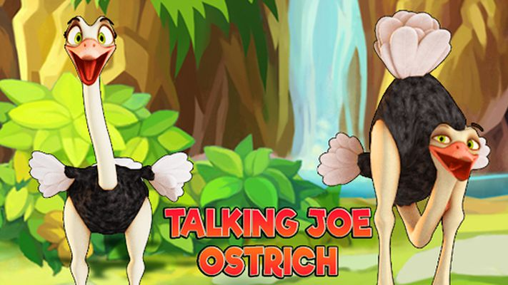 Picture of Talking Joe Ostrich