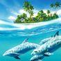 Golfinho Papel de Parede Vivo