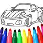 Carros colorir jogo
