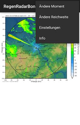 Regenradar Bonn