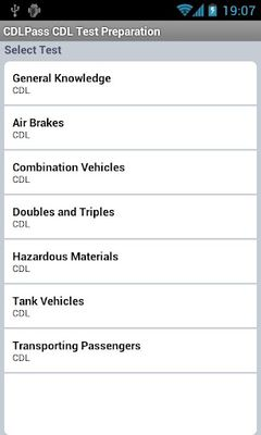Image 3 of CDL Commercial Driver TestPrep
