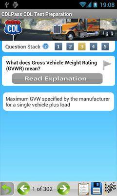 Image 1 of CDL Commercial Driver TestPrep