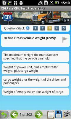 Image of CDL Commercial Driver TestPrep