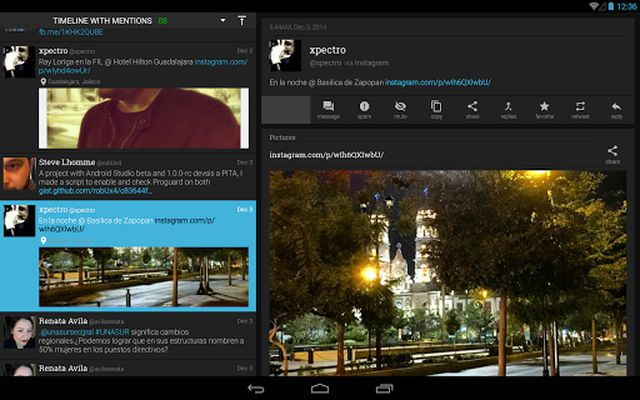 Image from Plume for Twitter