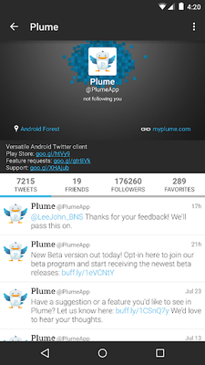 Image 13 of Plume for Twitter