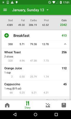 Image 11 of FatSecret Calorie Counter