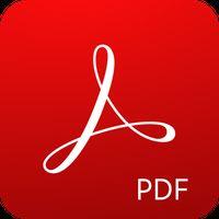 Ícone do Adobe Acrobat Reader: Leitor e Editor de PDF