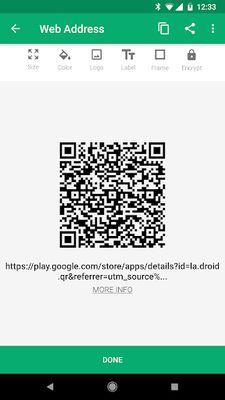 Image 3 of QR Droid Code Scanner