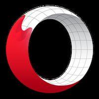 Icono de Navegador Opera versión beta
