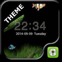 Ícone do GO Locker Aquarium Theme