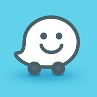 Biểu tượng Waze - GPS, Bản đồ, Cảnh báo giao thông