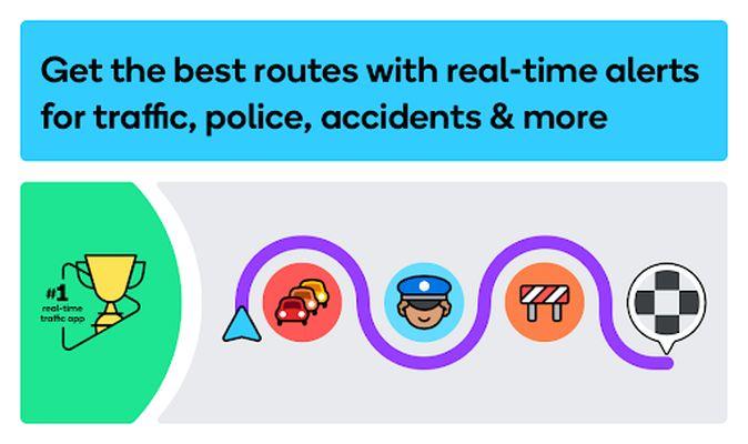 Screenshot 7 of Waze - GPS, Maps, Traffic Alerts and Navigation