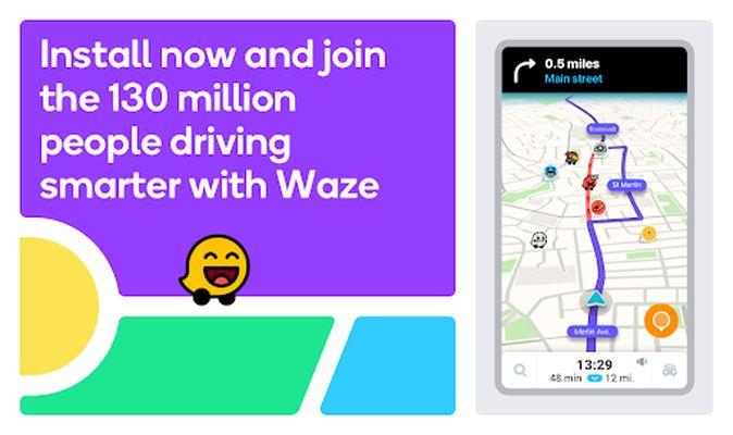Image 1 of Waze - GPS, Maps, Traffic Alerts and Navigation