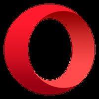 Android 用 Opera ブラウザ アイコン