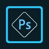 Ícone do Adobe Photoshop Express: Editor de fotos Colagens