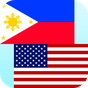 Filipino de Inglés traductor