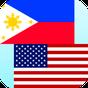 Filipino de Inglês tradutor