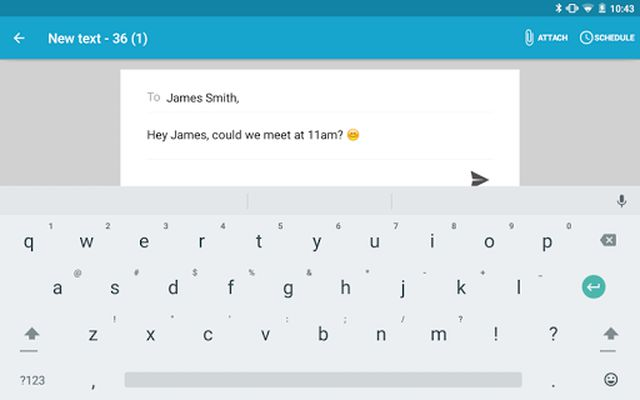 Image 2 of Tablet SMS ↔ PC & Web Sync