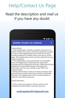 Image of Mobile Tracker for Android