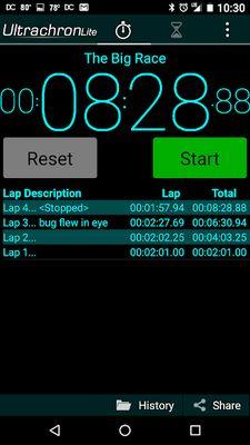 Image 1 of Ultrachron Stopwatch Lite