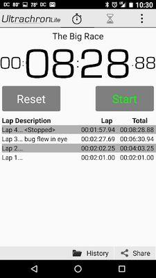 Image 3 of Ultrachron Stopwatch Lite