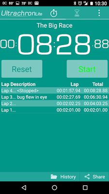 Image 5 of Ultrachron Stopwatch Lite