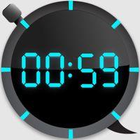 Ikona Cyfrowy stoper i timer